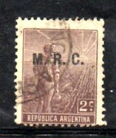 T1123 - ARGENTINA , Servizio Yvert N. 43 Usato M.R.C. - Servizio