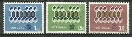 Portugal #898/900 Europa MNH Set - S1029 - 1910-... República