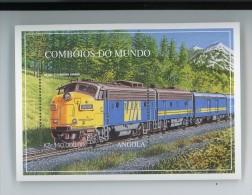 Angola 1997-Trains éléctriques-YT B32***MNH
