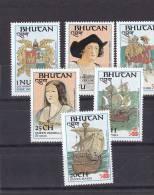 Bhutan Nº 756 Al 761 - Bhutan