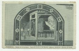 SALUTI DA POGGIBONSI CHIESA DI S.LUCCHESE DEL 1919  VIAGGIATA FP - Siena
