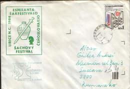 Czechoslovakia - Chess - Esperanto - Libice - Esperanta Sakfestivalo -Sachovy Festival 1984