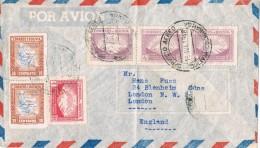 19783. Carta Aerea COCHABAMBA (Bolivia) 1948. Stamp Lloyd Aereo Y La Paz - Bolivia