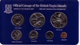 BRITISH VIRGIN ISLANDS - Complete Prooflike Set (7 Coins) 1983 FM - KM#MS11 [Rare Date] - Isole Vergini Britanniche