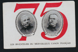 LE 75 INVENTEURS DU CAON FRANCAIS - Materiale