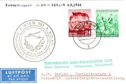DDR 428 - 429 Als MiF Sauber Auf LP- Ausl.- Postkarte Von Berlin 1954 - Sieger 156