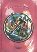 2001 Italia, Folder Giro D'Italia AL FACCIALE All'interno Annullo Arrivo Tappa Cronometro Individuale - 6. 1946-.. Repubblica