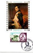 FDC France Bicentenaire De La Naissance De Napoléon Bonaparte 1769 -1821  YT N° 1610  20 AJACCIO 17/08/69 - FDC