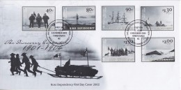 Ross Dependency 2002 The Discovery Expedition 6v FDC (F5822) - FDC
