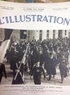 L´ILLUSTRATION N° 4940  Du 6 Novembre 1937 -- Officiers Français à BELGRADE - L'Illustration