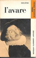 MOLIERE - L'avare (avec Documentation Thématique) - Theater