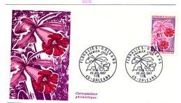 FDC France  Floralies Internationales D'Orléans 1967   YT N° 1528  45 Orleans 29/7/1967 - 1960-1969