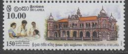 SRI LANKA, 2015, MNH,  HEALTH, NATIONAL HOSPITAL OF SRI LANKA, NURSES , 1v - Other