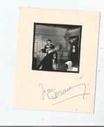 JEAN DESAILLY CARTON AVEC AUTOGRAPHE ET PHOTO - Autographs
