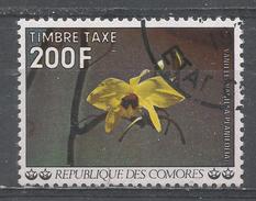Comoro Islands 1977. Scott #J16 (U) Vanilla Flower * - Comores (1975-...)