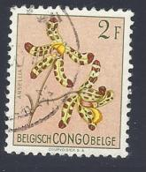 Congo Belga,1952 - Ansellia Africana (syn.Ansellia Gigantea) - Mi:BE-CD 306 - 1947-60: Gebraucht