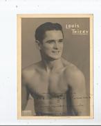 LOUIS THIERRY BOXEUR PHOTO  AVEC AUTOGRAPHE - Autographes