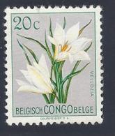 Congo Belga - Vellozia Aequatorialis - Mi:BE-CD 297 - 1947-60: Gebraucht