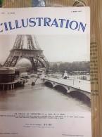 L´ILLUSTRATION N° 4905  Du 6 Mars 1937 --  Travaux De L'Exposition Et Crue De La Seine - L'Illustration
