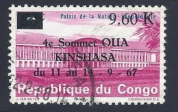 Congo1967, A.U.O. Conference - Mi:CD 294 - Usati