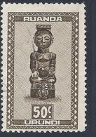 Ruanda Urundi 1948 - - Used - Ruanda