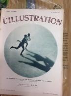 L´ILLUSTRATION N° 4900  Du 30 Janvier 1937 --  Champions Français De Patinage BRUNET - JOLY - L'Illustration
