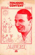 1935-VALSE PARTITION PUBLICITAIRE LIQUEUR APERITIF CLAQUESIN-ALIBERT A.MAGNE MILTON M.DUBAS Ch RIGOULOT M.THIL- EXC ETAT - Music & Instruments