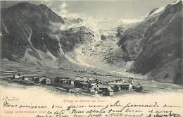 - Haute Savoie -ref-C188 - Le Tour - Village Et Glacier - Glaciers - Carte Bon Etat - - Andere Gemeenten