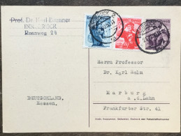 A17 Österreich Austria Autriche Ganzsache Stationery Entier Postal Mi. P 332 Von Innsbruck Nach Marburg