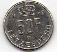 Luxembourg 50 Francs 1989 - Luxembourg