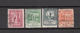 1929   EDIFIL  Nº  16 , 17 , 18 , 23 ,