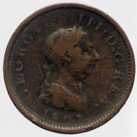 Georges III - 1807 à Identifier - 1662-1816 : Anciennes Frappes Fin XVII° - Début XIX° S.