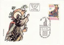 ÖSTERREICH FDC. 1982 Vogelpredigt, 800 Jahre Franz Von Assisi, Mi: 1703 - Christianisme