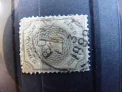 Curacao 1889-91 1c Grey Used SG 37 NVPH 13 - Curacao, Netherlands Antilles, Aruba
