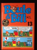 Bande Dessinée Boule Et Bill Par Roba Tome 13 - Boule Et Bill