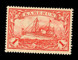 1 Mark Mit Wasserzeichen Tadellos Postfrisch, Mi. 55,-, Katalog: 24IIB **1 Mark Watermarked In Perfect...