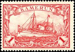 1 Mark Kaiseryacht In Type IIA Tadellos Ungebraucht, Gepr. Steuer BPP, Mi. 150.-, Katalog: 24IIA *1 Mark...