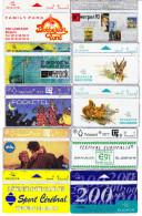 10 Télécartes Usagées Différentes. (CT3) - Belgique