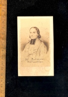 Photographie Carte De Visite CDV : Théodore RATTISBONNE Missionnaire Apostolique Juif Converti Portrait Vers 1860 - Foto