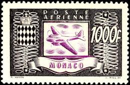"""300 Fr. Bis 1.000 Fr. """"Flugzeug"""", Flugpostausgabe 1949, Tadellos Postfrisch, Mi. 200.-, Katalog: 394/96 **300..."""