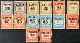 Freimarken, Mi. Nr. 149-62, Postauftragsmarken Mit Aufdruck Komplett, Tadellos Ungebraucht., Mi. Für ** 150.-,...