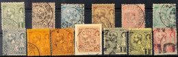 Freimarken Albert I., 1 C. Bis 5 Fr. Kpl. 5 Fr. Die Bessere Farbe A, Außerdem 18 B Und 20 X, 75 C. Auf...