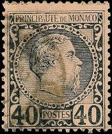 "Charles III. 1 C Bis 40 C Kpl. Pracht 2 C. Seltene Lochung ""CL"", Mi. 278.-, Katalog: 1/7 OCharles III. 1 C Till..."