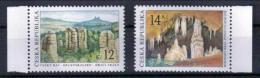 Tschechien 'Mährischer Karst & Drachenfelsen' / Czech Rep. 'Moravian Karst & Drgaon Rocks' **/MNH 2003