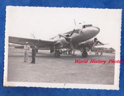 Photo Ancienne - MADAGASCAR - Bel Avion AIR FRANCE à Identifier - Période 1948 / 1951 - Plane Aérodrome Airdrome Airport - Aviation
