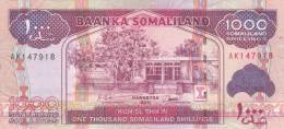 SOMALILAND SOMALIA 1000 Shilling 2011 P-20a UNC */* - Somalië