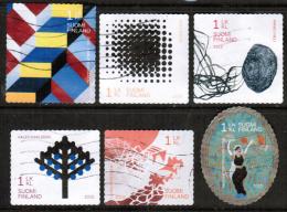 2015 Finland, Artists Association Complete Set Used.