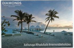 Diamonds Resorts.Athuruga & Thudufushi Islands.Carte Postale Du Pavillon MALDIVES à L'EXPO MILAN 2015 - Maldives