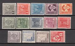 1948 - 1953   EDIFIL  Nº 45 / 58   / ** /