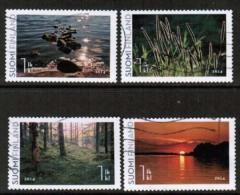 2014 Finland, Sweet Summer 4 V. Used.